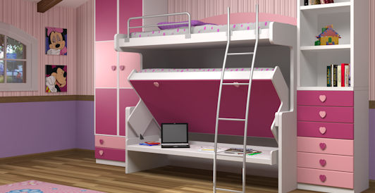 Double Decker Bunk Beds - Available in Twin over Twin and Twin over ...